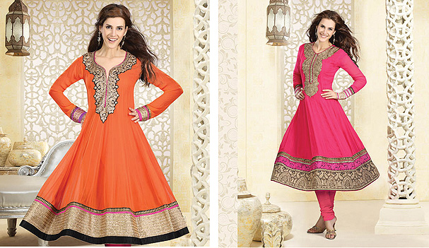Long Anarkali Churidars