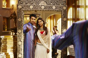 "Ranbir and Deepika in still from ""Yeh Jawaani Hai Deewani""."