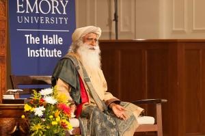 Sadhguru Jaggi Vasudev at Emory