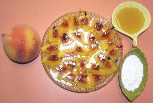 Quick Peach Dessert