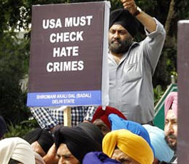 hate crimes against Hindus, Sikhs