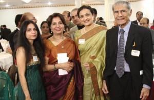 NRI Pulse team with Ambassador Nirupama Rao