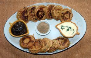 Potato Dahi Wada