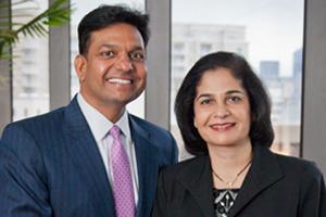 Satish & Yasmin Gupta