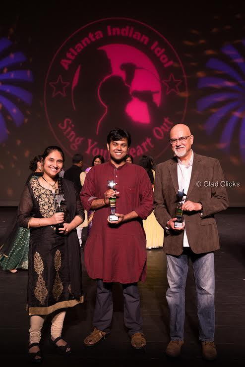 Jyotsna Rao and Souryadeep Bhattacharyya win 2016 Atlanta Indian Idol titles | | NRI Pulse