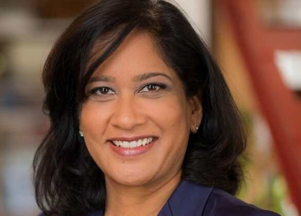 Indian-American Naureen Hassan named first vice president and COO of New York Fed.(pic credit: twitter.com/NewYorkFed)