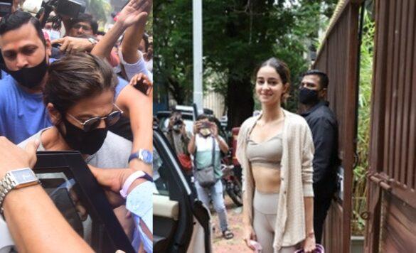 SRK and Ananya Pandey.